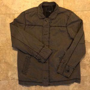 Rad Converse military inspired overshirt